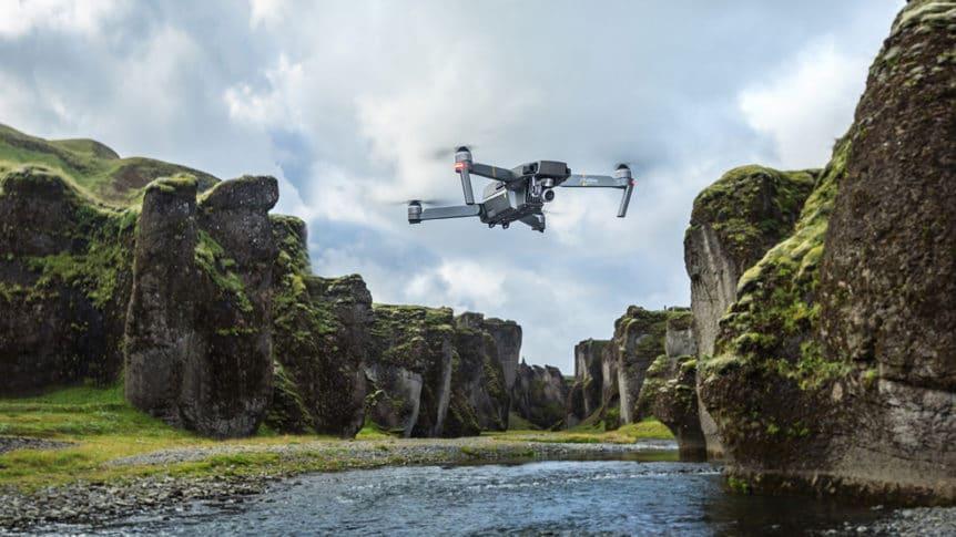 flyvende kamera, droneudstyr