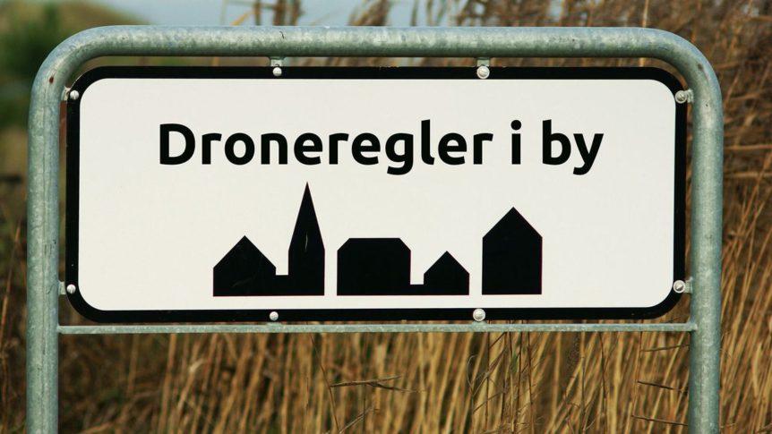 Regler for droner i byen, droneregler i byen