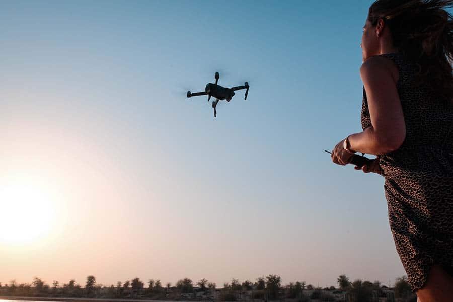 Flyve afstand drone,  Regler for droner