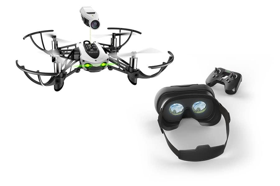 Hvad er en drone Mikrodrone Parrot, drone over hus