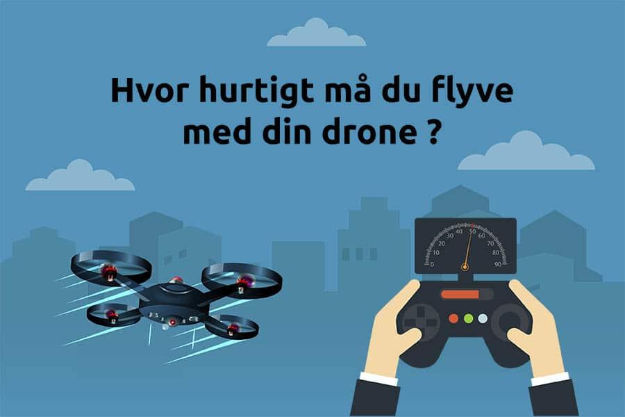 Fartgrænser for droner, Regler for droner