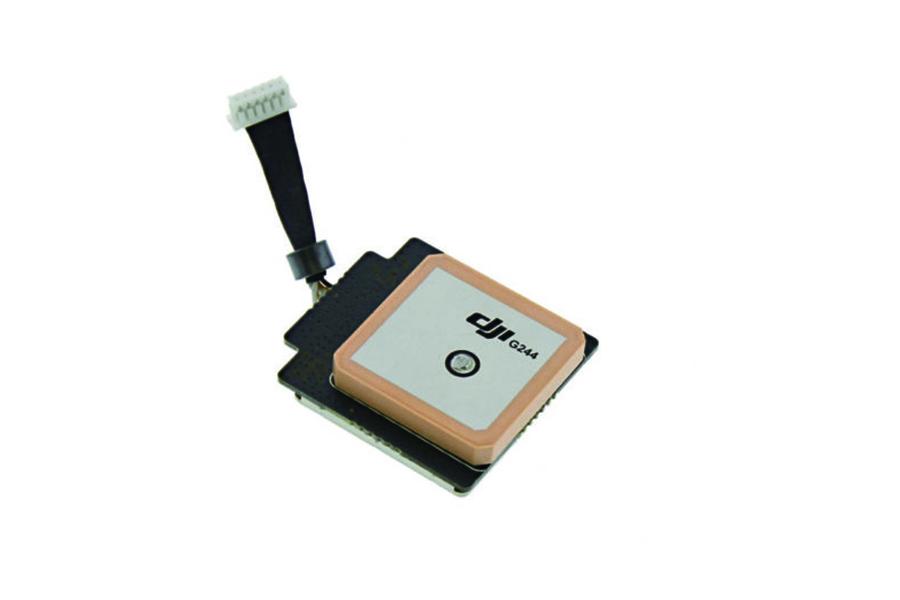 Drone GPS modul mærke DJI, chipboard med ledning