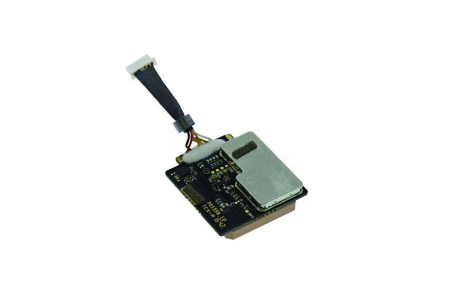 Drone GPS modul mærke DJI, chipboard med komponenter og ledning