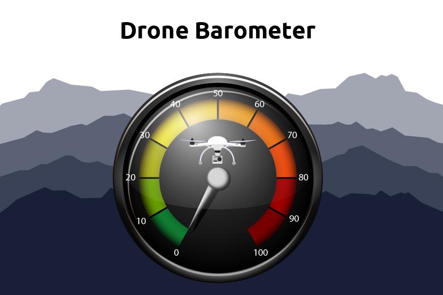 Drone barometer, højdemåler