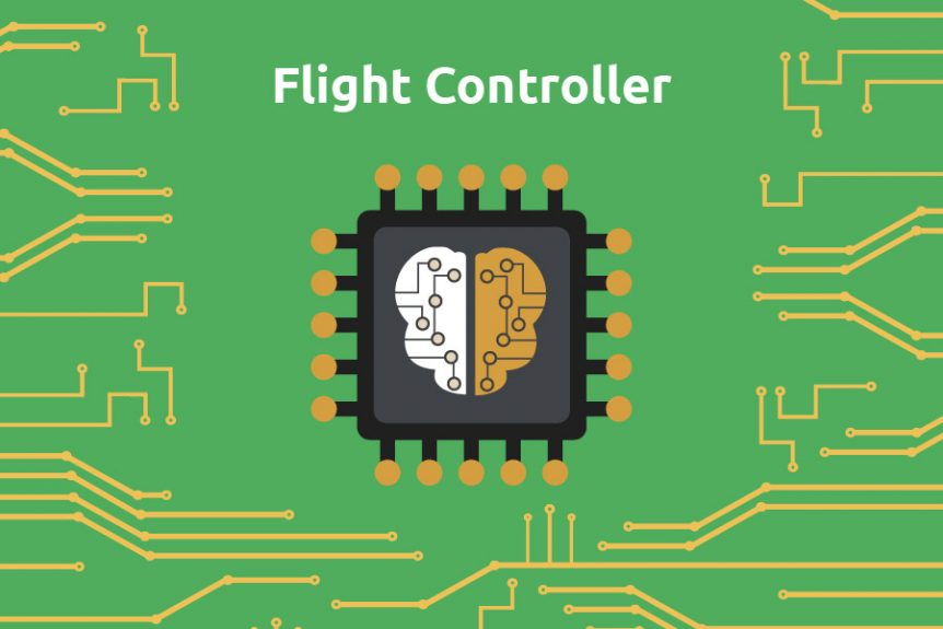 Flight controller, drone, circuit