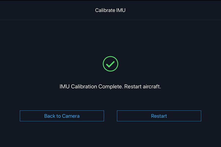 Kalibrering af IMU step 6