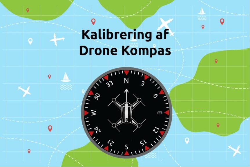Drone kompas kalibrering