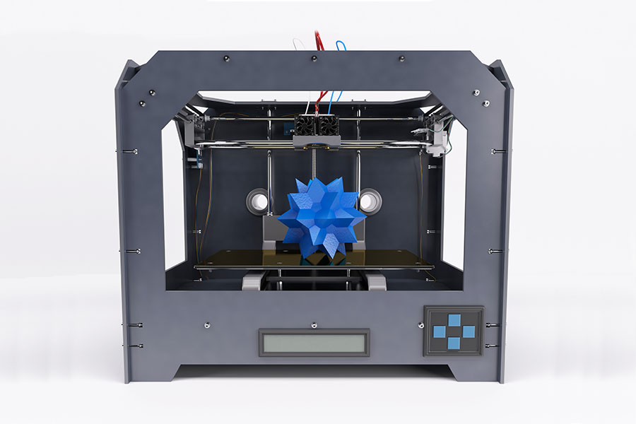 Droner og 3d printer, 3d printer eksempel