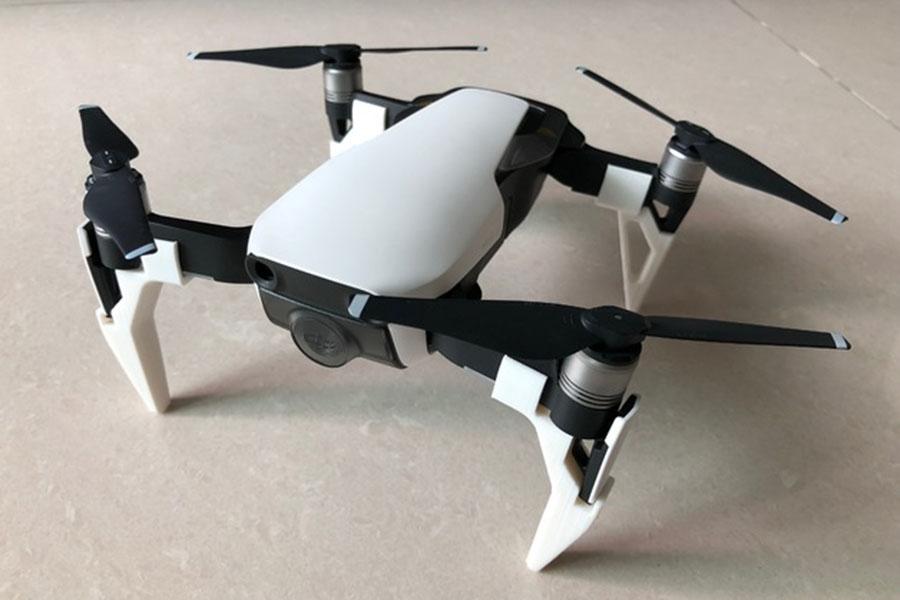 drone, 3d print, ben forlænger