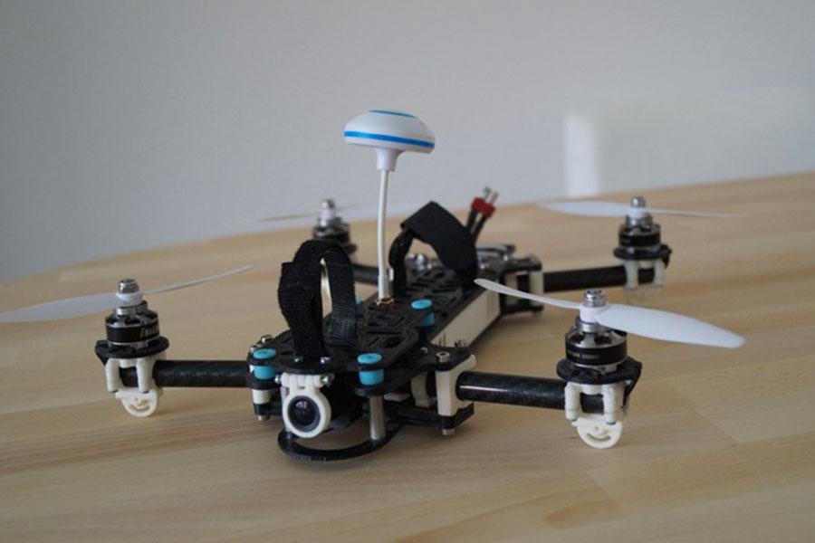 DIY, racedrone, 3d print